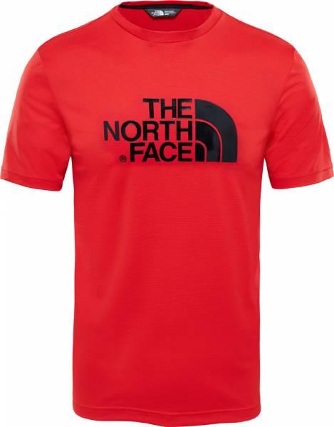 The North Face Tanken Tee Men T-Shirt high risk red