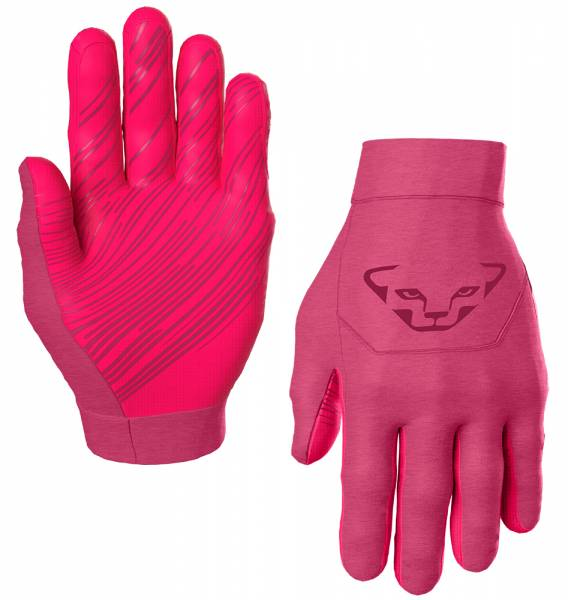 Dynafit Upcycled Thermal Gloves Handschuhe sangria