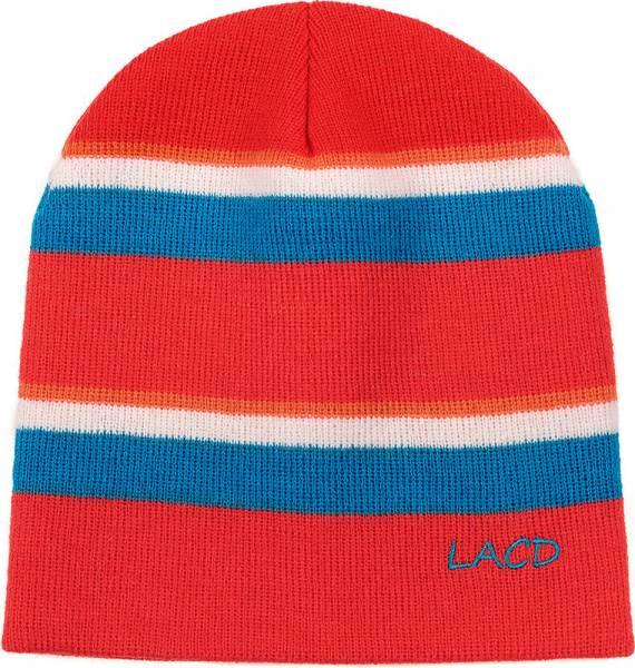 LACD Stripes Beanie Mütze grenadine