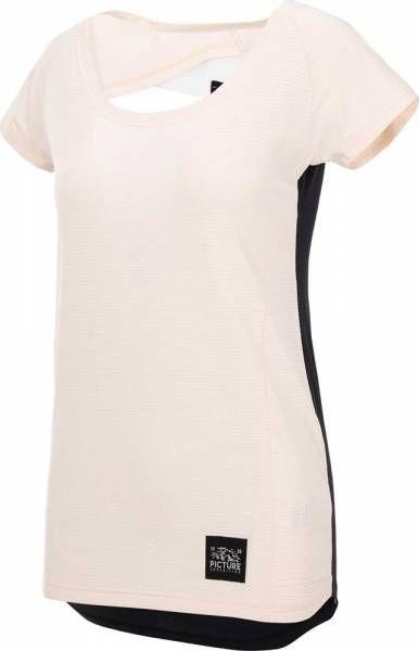 Picture Milli Tech SS Tee Women T-Shirt sand