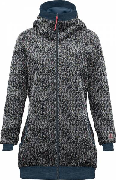 Crazy Idea Siurana Coat Women Mantel blue