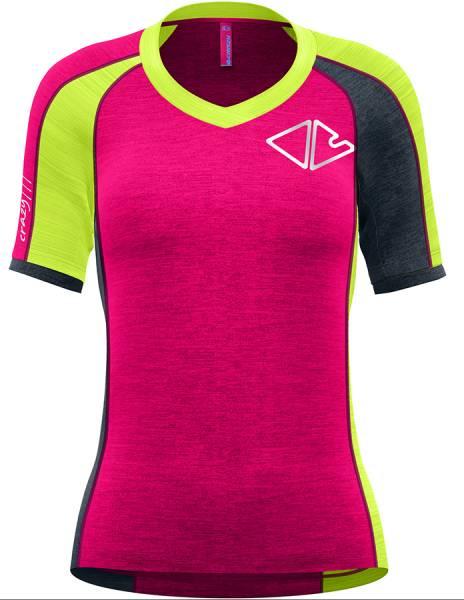 Crazy Idea T-Shirt Ionic Damen Funktionsshirt energy