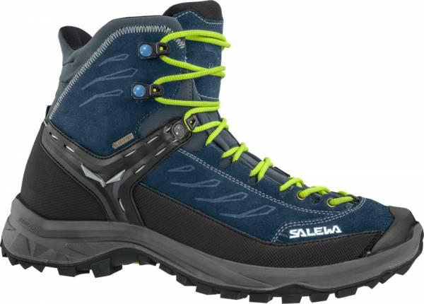 Salewa Hike Trainer MID GTX Men blue sapphire/hawaiian Wanderschuh