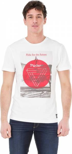 Picture Surf Rider Tee Men T-Shirt white
