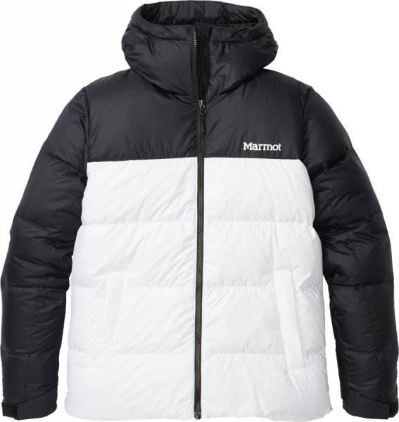 Marmot Guides Down Hoody Damen Daunenjacke white/black