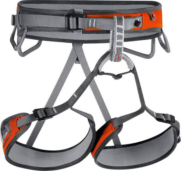Mammut Ophir 3 Slide Men smoke-orange Klettergurt