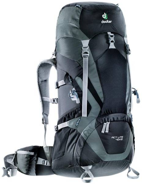 Deuter ACT Lite 40 + 10 black-granite