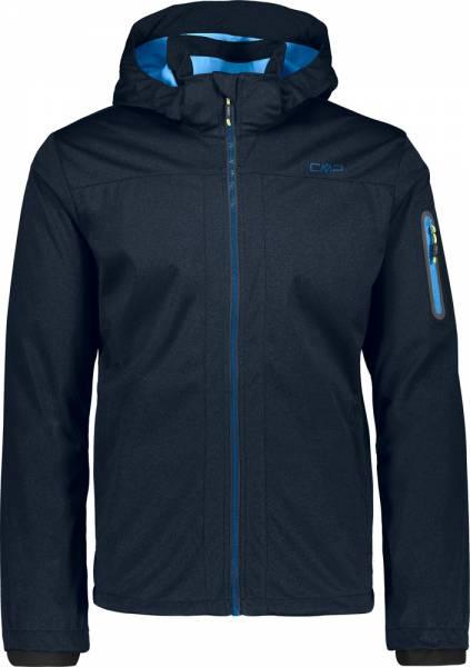 CMP Man Jacket Zip Hood b.blue mel. (39A5027M)