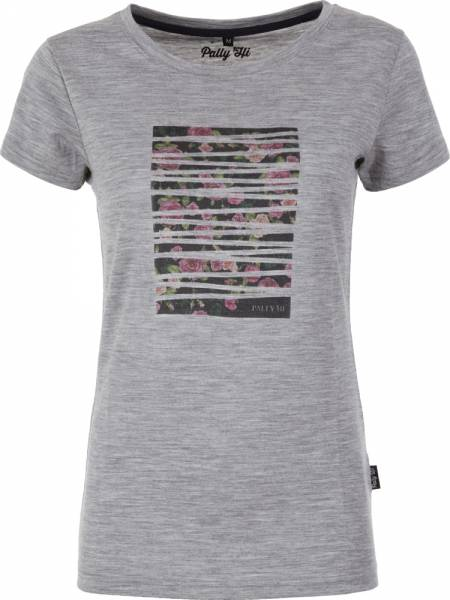 Pally´Hi Rose Bonding Women T-Shirt heather grey