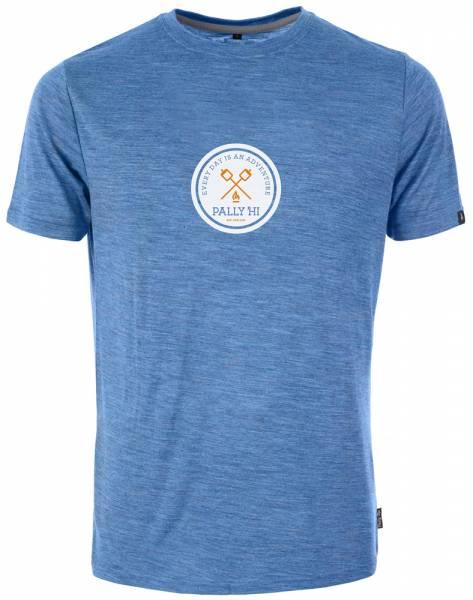 Pally´Hi Roast Mellow T-Shirt blue heaven