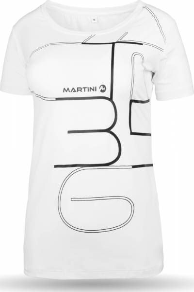 Martini Chill out T-Shirt Women white Funktionsshirt