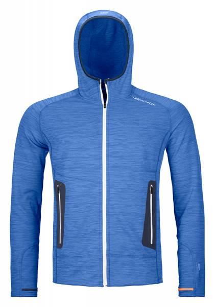 Ortovox Fleece Light Hoody Herren Midlayer just blue blend