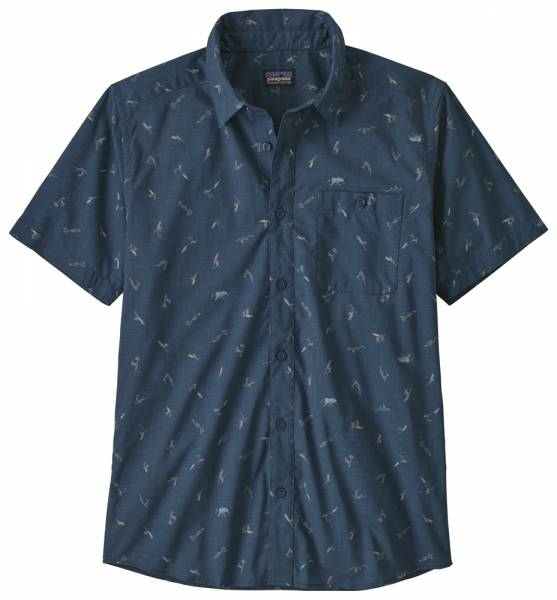 Patagonia Go To Shirt Men surfers: stone blue