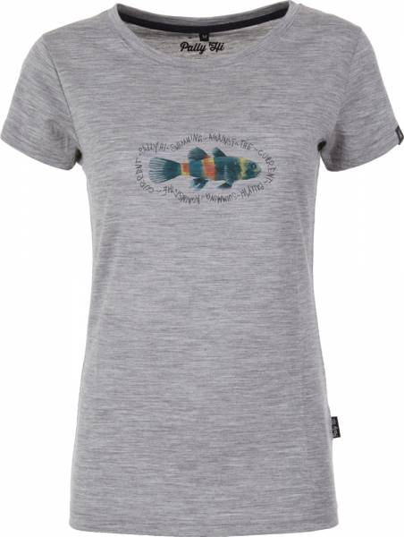 Pally´Hi Pescado Women T-Shirt heather grey