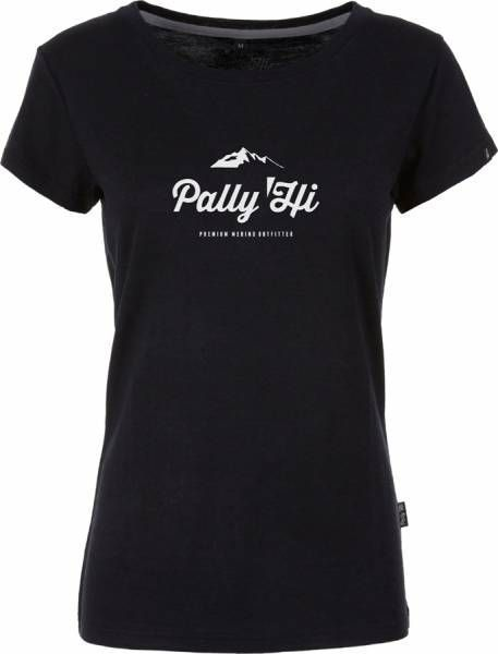 Pally´Hi Classic Peak Logo Damen T-Shirt bluek
