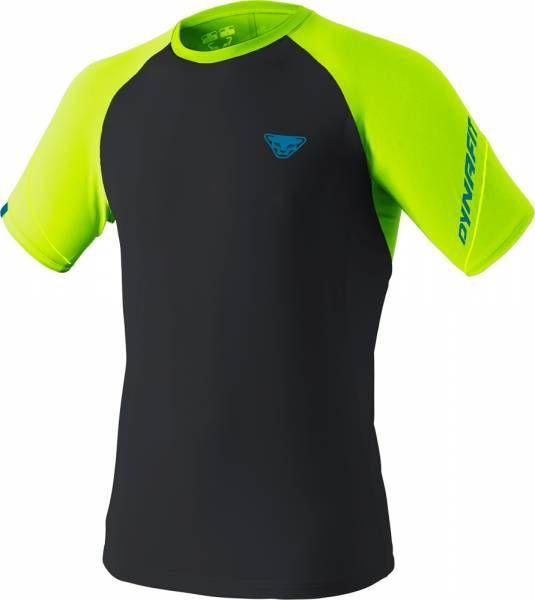 Dynafit Alpine Pro Tee Men Runningshirt fluo yellow/0910
