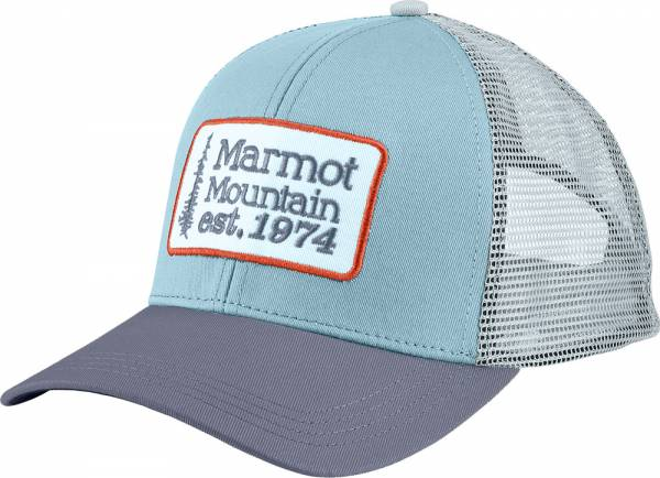 Marmot Retro Trucker Hat blue shale/steel onyx Cap