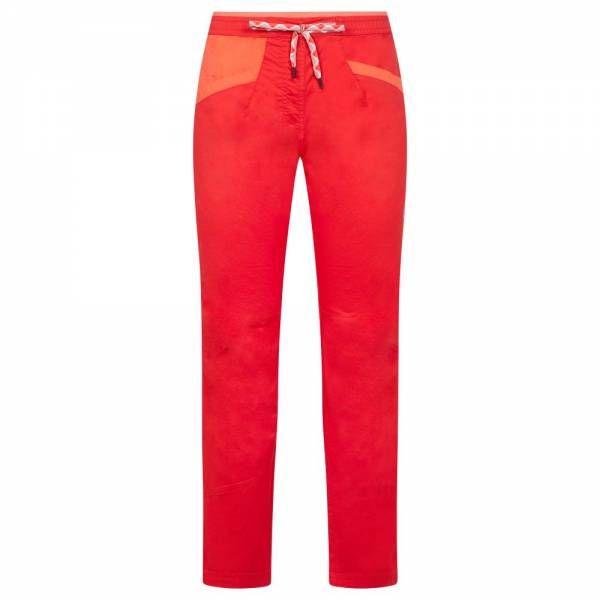 La Sportiva Temple Pant Women Kletterhose hibiscus/flamingo