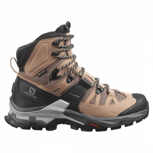 Salomon Quest 4 GTX Damen Wanderschuh sirocco/mocha mousse/almond cream