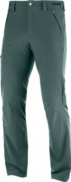 Salomon Wayfarer Straight Pant Men Softshellhose green