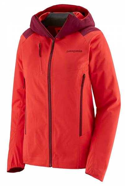 Patagonia Upstride Jacket Damen Skitourenjacke catalan coral