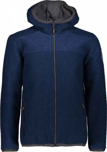CMP Jacket Fix Hood Men Wolljacke Inchiostro