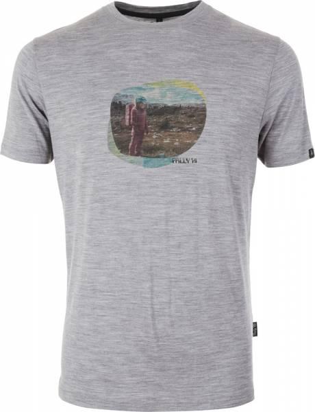 Pally´Hi Lost in Space Herren T-Shirt heather grey
