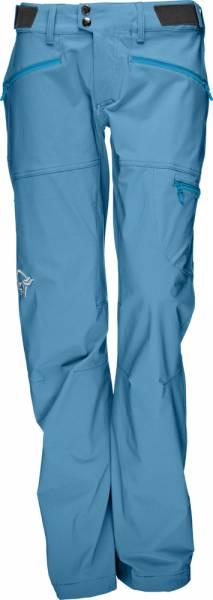 Norrona Falketind Flex1 Pants Women Softshellhose Blue Moon