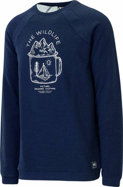 Picture Lifer Pullover Men dark blue