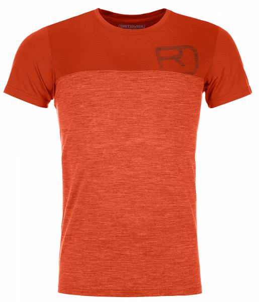 Ortovox 150 Cool Logo TS Herren T-Shirt desert orange