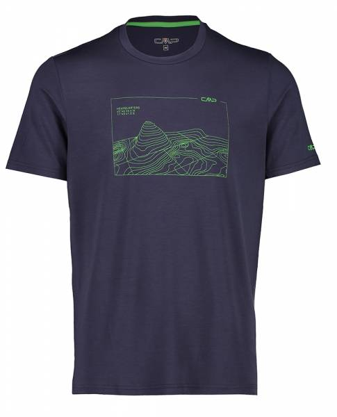 CMP Herren T-Shirt b.blue-aloe (38T6457)
