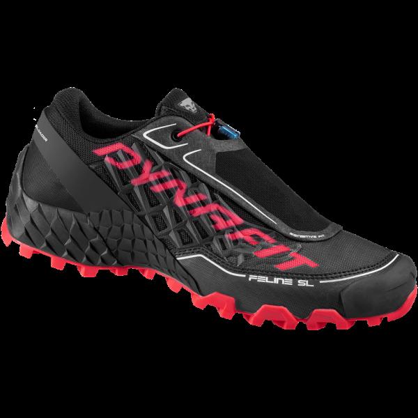 Dynafit Feline SL Women Trailrunningschuh Black/Fluo pink