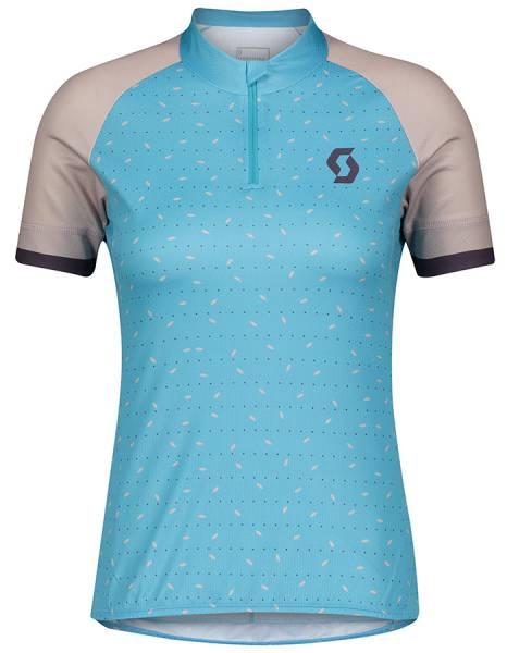 Scott Endurance 30 Shirt Damen Kurzarmtrikot breeze blue/blush pink