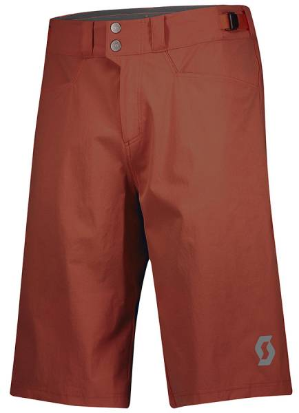 Scott Trail Flow Shorts Herren Fahrradhose rust red