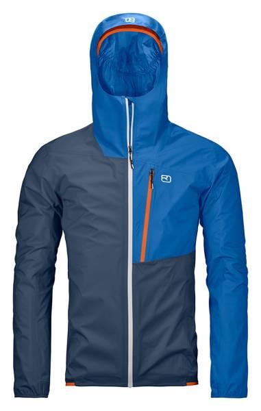 Ortovox 2.5l Civetta Jacket Herren Hardshelljacke blue lake