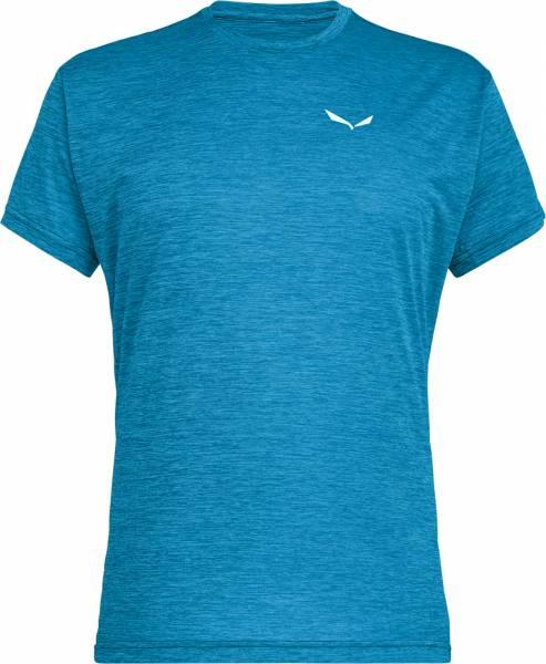 Salewa Puez Melange Dry Men S/S Tee Shirt blue danube