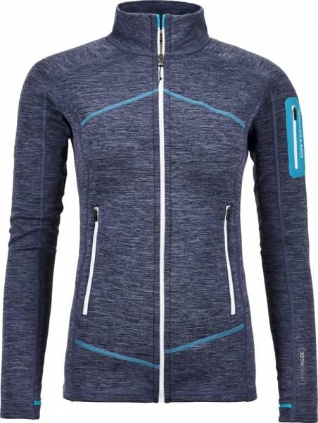 Ortovox Fleece Light Melange Jacket Women night blue Fleecejacke
