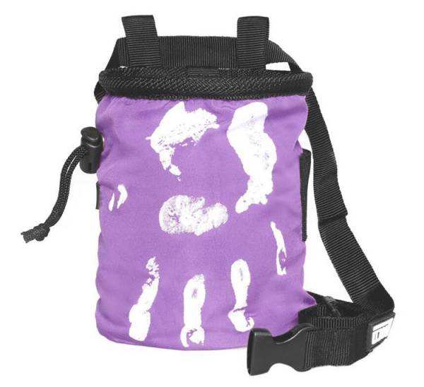 LACD Chalk Bag Hand of Fate purple