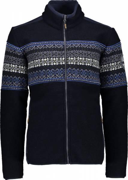 CMP Jacket Men Wolljacke Black Blue