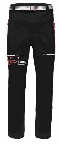 Martini Sportswear Major Step Herren Skitourenhose black/hot fire