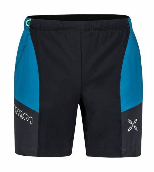 Montura Block Light Shorts Herren Outdoor-Short nero/blue ottanio