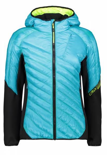 CMP Woman Hybrid Jacket Fix Hood Damen Isolationsjacke baltic (30Z2416)