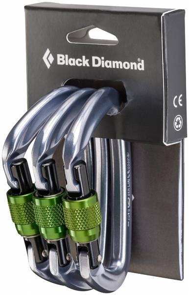Black Diamond Positron Screwgate 3er Pack