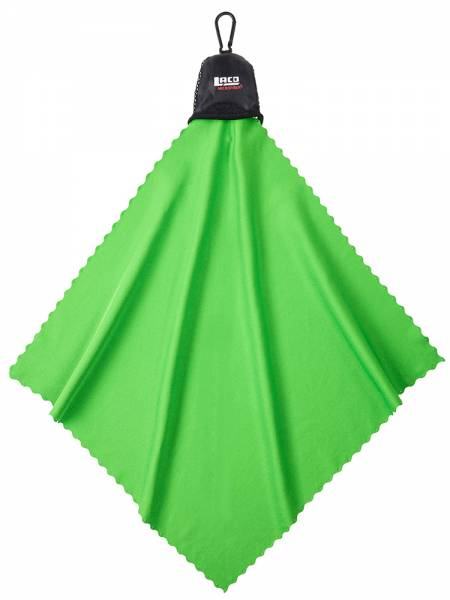 LACD Mini Towel lime Mikrofaserhandtuch