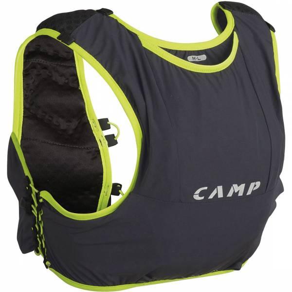 Camp Trail Force 5 M-L Trailrunningrucksack anthracite grey/lime