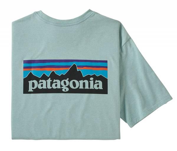 Patagonia M's P-6 Logo Responsibili-Tee® Herren T-Shirt big sky blue