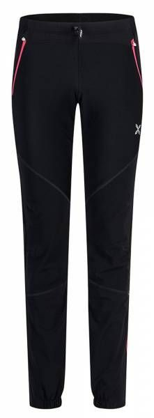 Montura Evoque 2 Pants Damen Softshellhose nero/rosa sugar