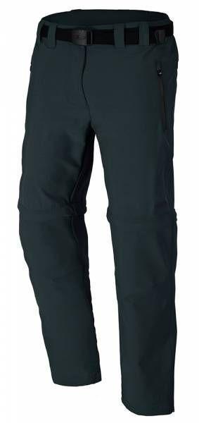 CMP Long Pant Zip Off Damen Outdoorhose (Kurzgröße) antracite (3T51446CF)