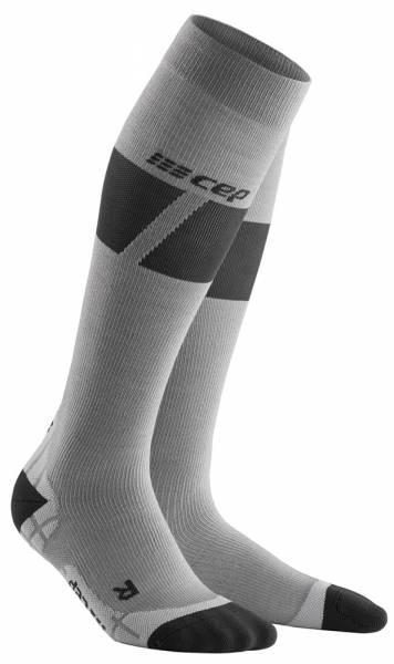 CEP Ski Ultralight Compression Socks Damen Skisocken grey/dark grey