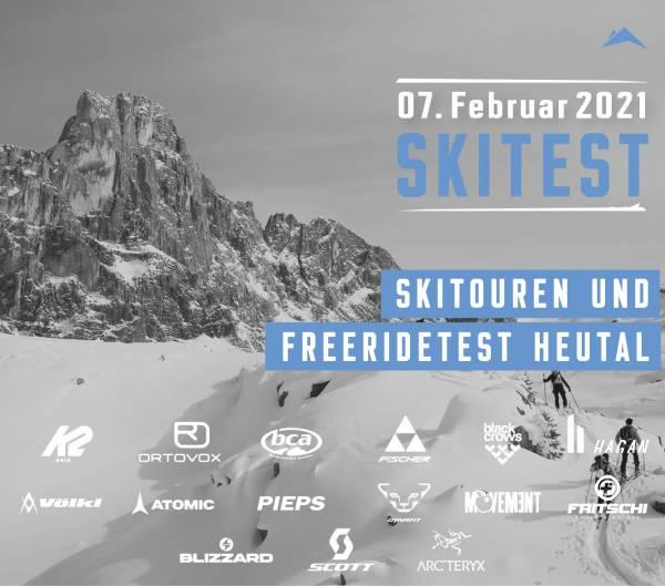 Skitest im Heutal (07.02.2021)